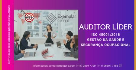 Treinamento Auditor Líder ISO-45001