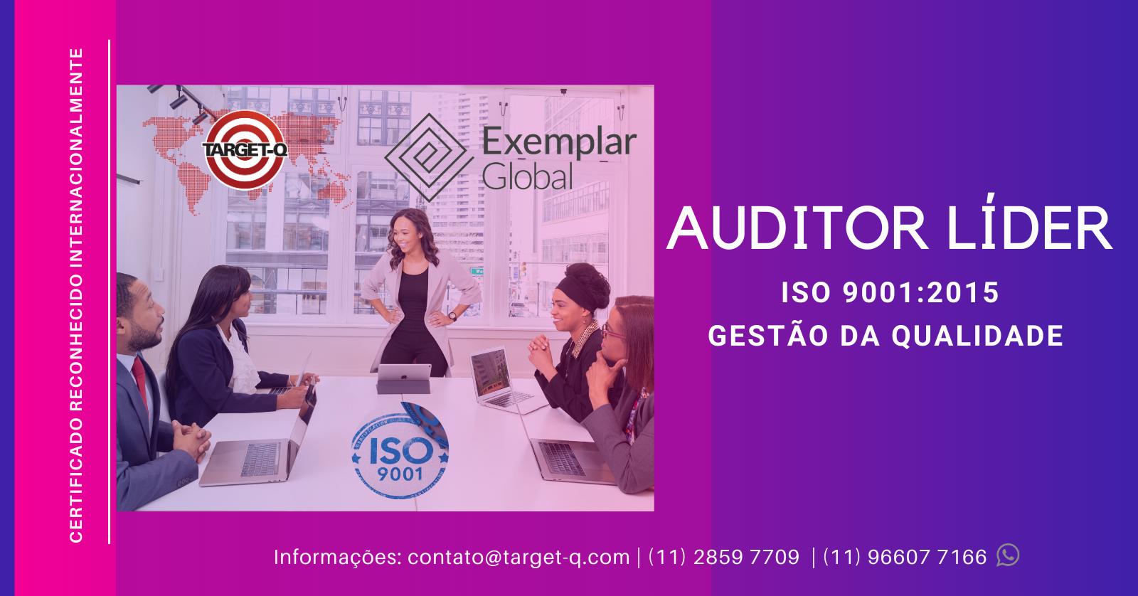 Treinamento Auditor Líder ISO-9001:2015